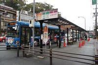 内宮前のバス停