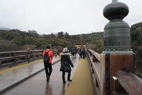 橋の向こうから神域