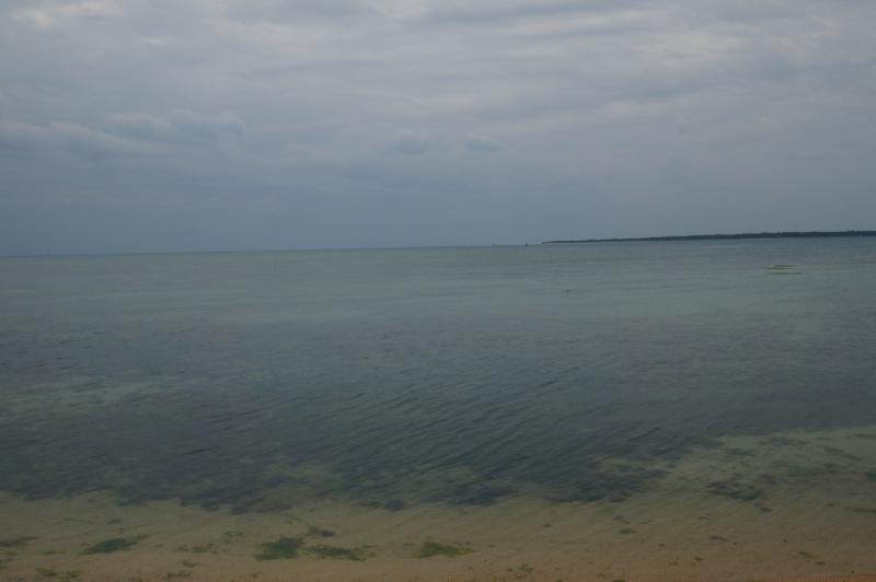 ここにもキレイな海が