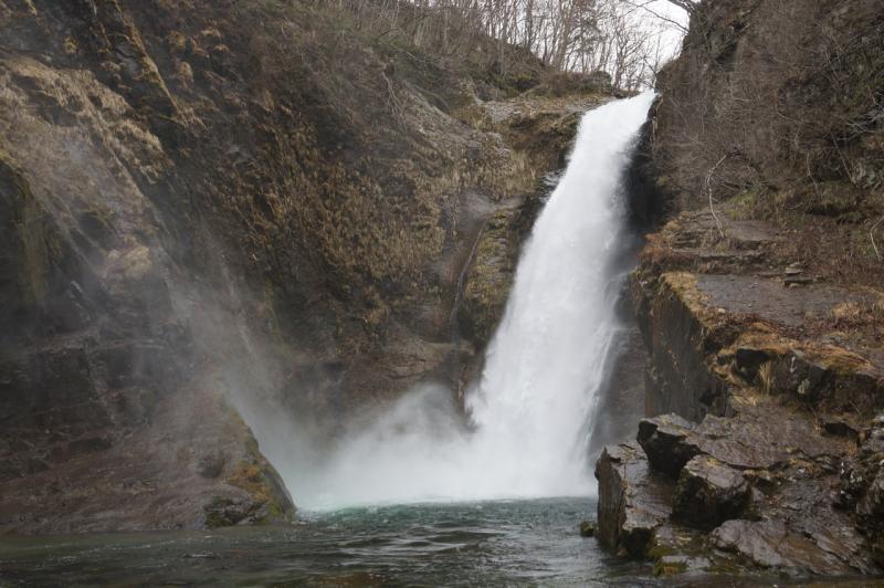 秋保大滝の滝壺